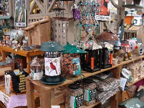 Bird items display at Hillermann's